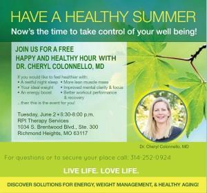 healthy happy hour june 2v2